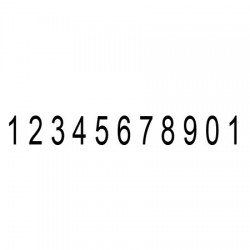Numerador 11 xifres