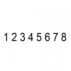 Numerador 8 cifras