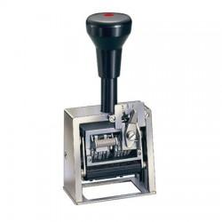 Fechador numerador con placa 45 x 25 mm.