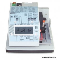 Reloj-fechador numerador electronico