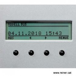 datadorelectrònica amb placa de texte 42x30 mm.