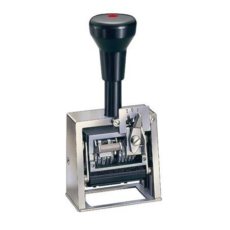 Numerador fechador con placa 45 x 25 mm.