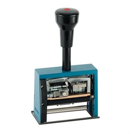 Numerador fechador con placa 65 x 30 mm.