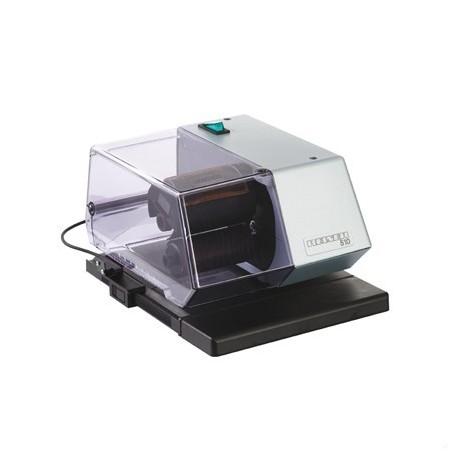 Fechadora electrónica con placa de texto 60x35 mm.