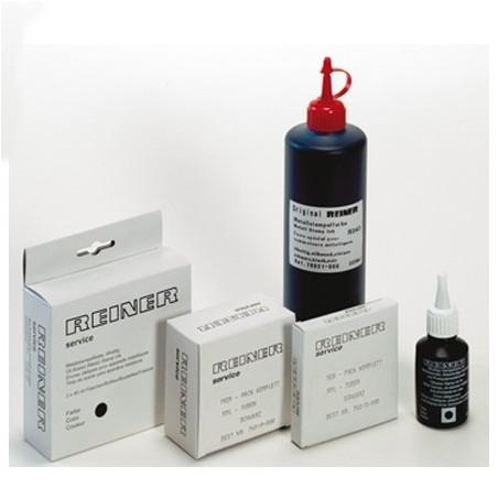 Caja de 15 tubos color negro